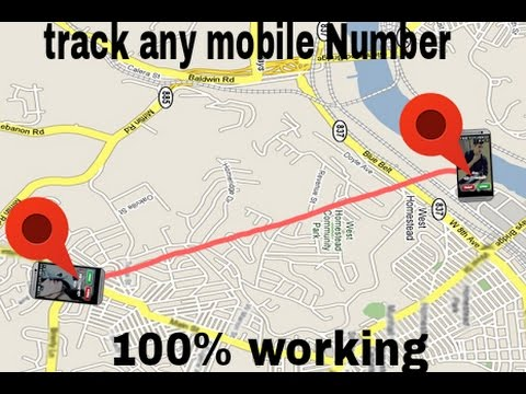 Number Location Map Track any mobile number location with proof ( with download link
