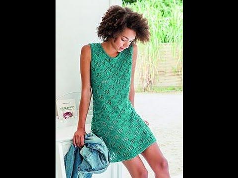 Вязание Спицами - Летние Платья 2017 /Knitting Knitting Patterns Summer Dresses /Sommerkleider