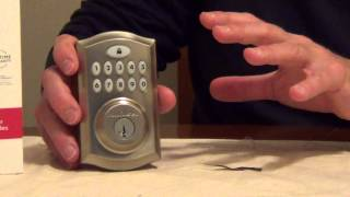 Keyless Door Lock - Kwikset Smartcode