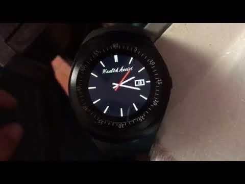 d6199e4e4ad como é o relogio inteligente smart Watch y1 - YouTube