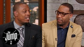 Paul Pierce and Tracy McGrady disagree if Thunder should