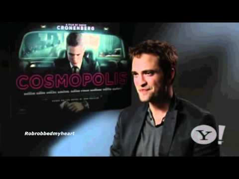 Rob Pattinson's full interview with Yahoo Movies UK for Cosmopolis