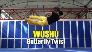 WUSHU TUTORIAL: Butterfly Twist