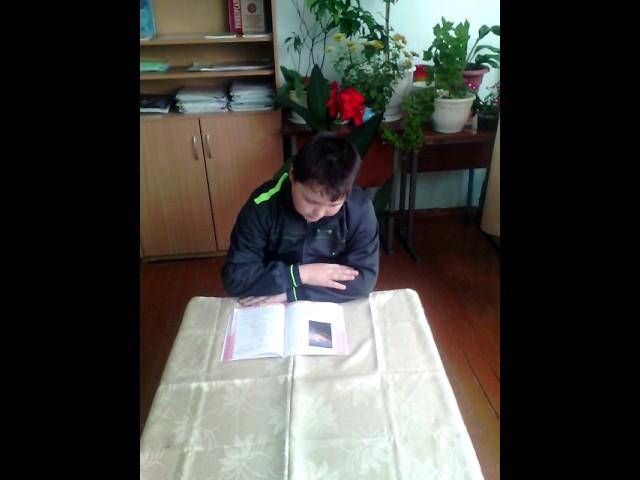 Изображение предпросмотра прочтения – ДанилКурманов читает произведение «Утёс (Ночевала тучка золотая…)» М.Ю.Лермонтова