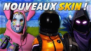 LES PROCHAINS SKINS de FORTNITE Battle Royale !