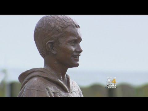 Bridgewater State Unveils Statue Of Martin Richard