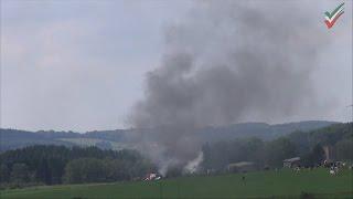NRWspot.de | Altenbreckerfeld – Rauchsäule weithin sichtbar – Reifen brannten auf Feld