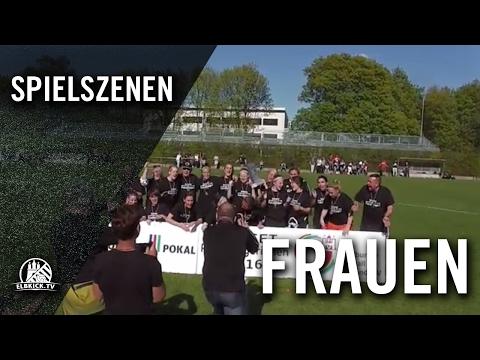 FC St. Pauli - FC Bergedorf 85 (Finale, Pokal der 1. Frauen 2015/2016) - Spielszenen | ELBKICK.TV