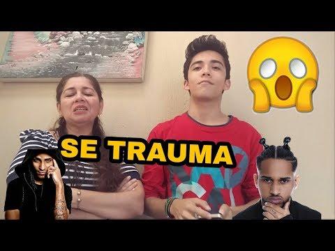 Mi mamá reacciona a canciones de trap/ Javier López