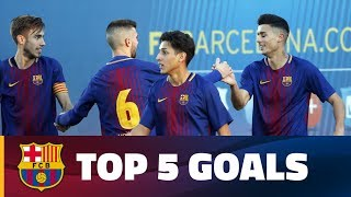 FCB Masia – Academy: Top 5 goals 16-17 December