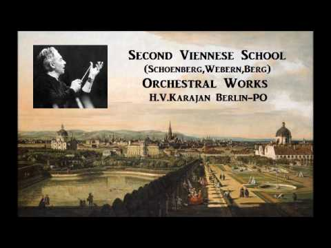 Second Viennese School Orchestral Works [ H.Vn Berlin-PO ] (1972~74)