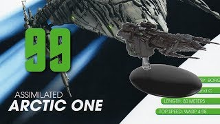 The Official Starships Collection - Issue 99 : Assimilated Arctic One review