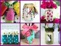 Summer Mason Jar Crafts - Summer Jar Decorating Ideas