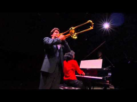 """""""Discoveries"""" - Achiles Liarmakopoulos,trombone - Amy J.Yang,piano"""