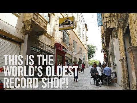 Malta is home to the oldest record shop in the world.