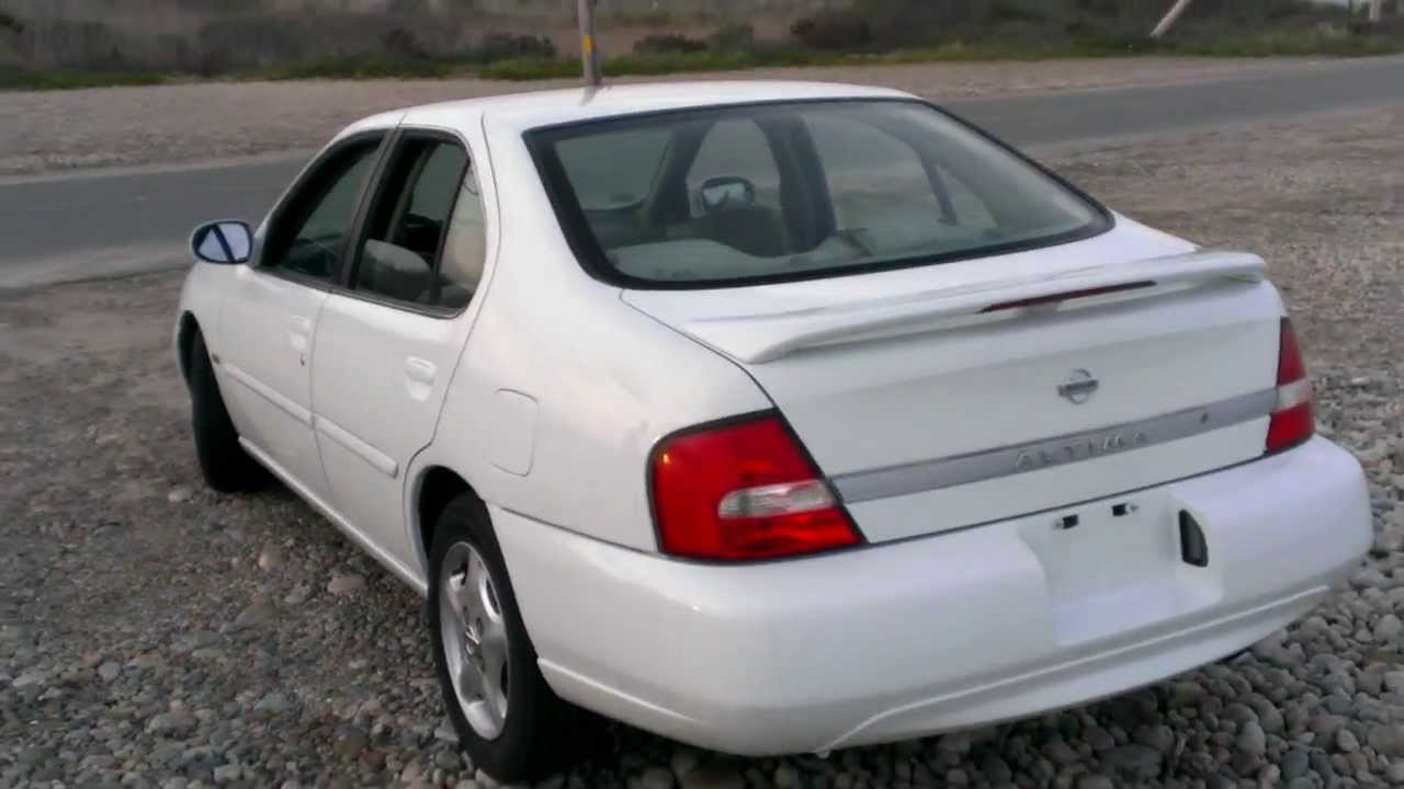 White Nissan Altima >> 2001 Nissan Altima GXE Limited Edition walk around - YouTube