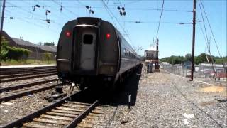 The Pennsylvanian trains 42,43 at Paoli and Thorndale
