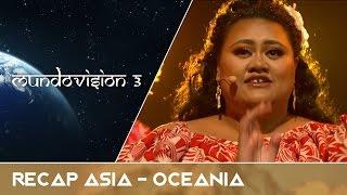 MUNDOVISIÓN 3 | Recap Asia - Oceanía