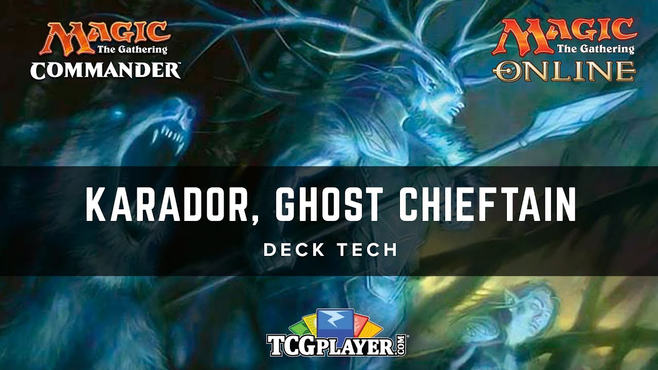 [MTG] Karador, Ghost Chieftain | 1v1 Commander Deck Tech
