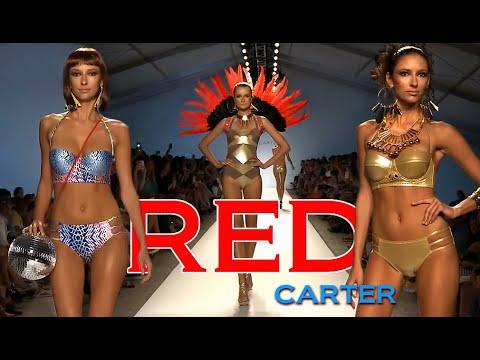 Red Carter - Mercedes-Benz Fashion Week Swim 2013 Runway Bikini Show in Miami Beach FL