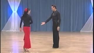 Урок танца  Дроби фламенко с испанской линией   YouTube