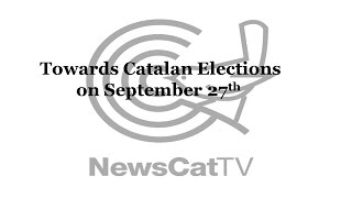Catalan Parliamentary Elections to be held on September 27th
