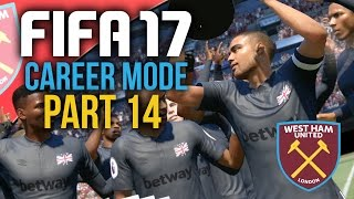 FIFA 17 Career Mode Gameplay Walkthrough Part 14 - CUP FINAL (West Ham)