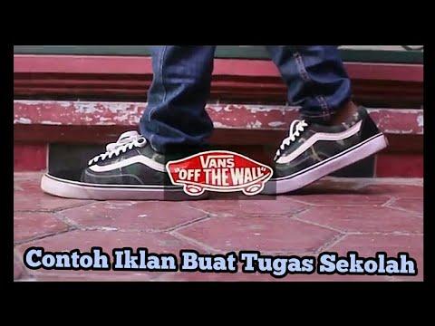 Iklan Sepatu Vans Contoh Iklan Promosi Simple Untuk Tugas