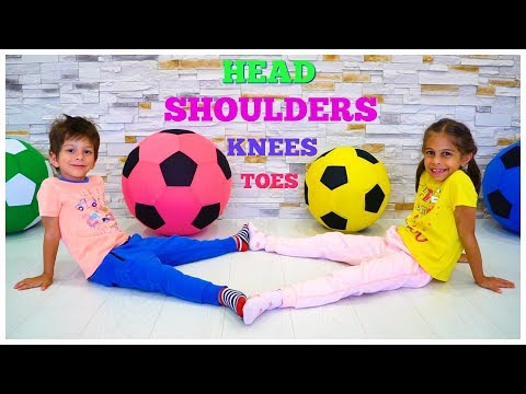 Head Shoulders Knees and Toes - Learn Fitness with Exercise Songs for Kids