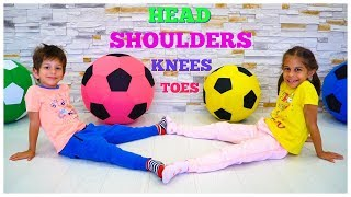 Head Shoulders Knees and Toes - Music Video Songs for Children