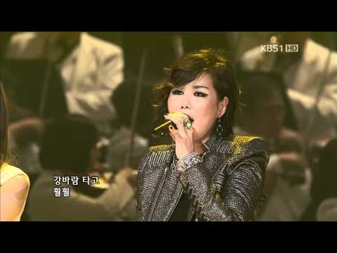 111023 Davichi+Park Mi Kyung-As Like Dandelion Spores @KBS Open Concert