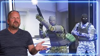 Former Bank Robber REACTS to The Diamond Casino Heist in GTA Online | Experts React