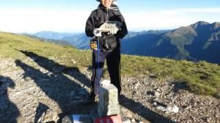 登山全紀錄 30 dvd 向陽山三叉山嘉明湖之旅dvd 蘆洲隊2013 7 27 29登山紀錄片