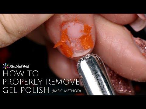 How to Properly Remove Gel Polish (Basic Method)