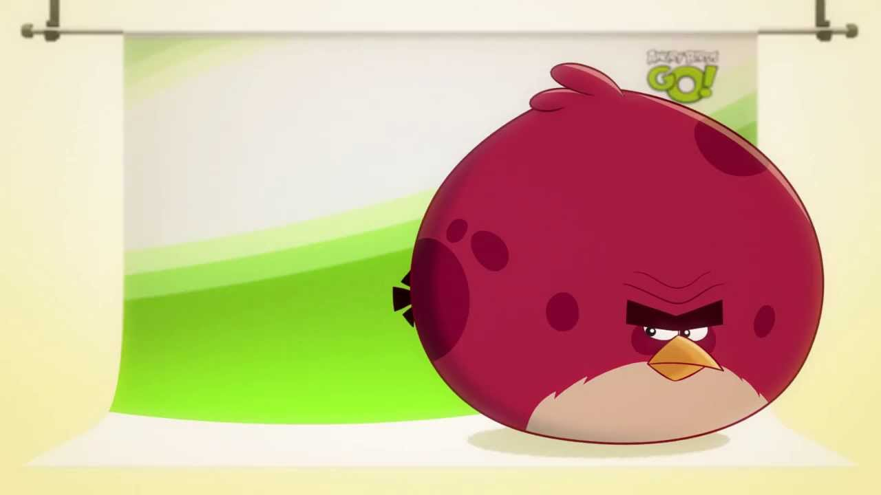 angry birds go terence - photo #1