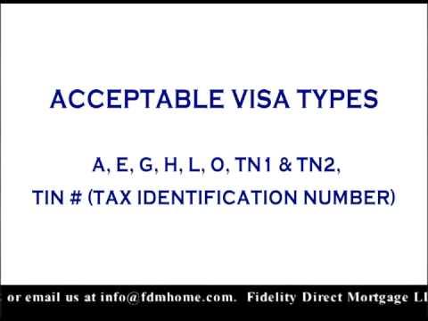 "Mortgage Minute: ""Authorized Visa Types"""