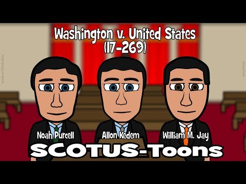 Washington v. United States (SCOTUS-Toons)
