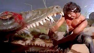 Download Arjun Sarja Fight With Crocodile || Kannadiga Gold Films || Full HD Mp3 and Videos