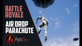 Battle Royal Series -  Spawning with Parachute [UE4] Mp3
