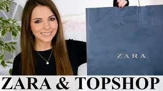 ZARA + TOPSHOP + ASOS + URBAN OUTFITTERS HAUL + TRY ON