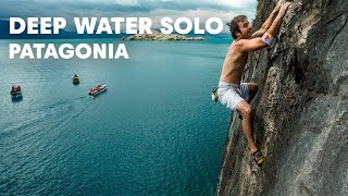 Patagonia deep-water soloing - Red Bull Psicobloc 2012 thumbnail