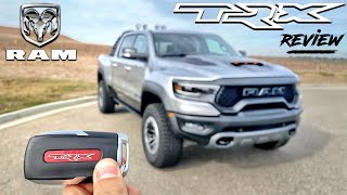 The 702-HP RAM 1500 TRX is the Most Vicious Pickup You Can Buy (In-Depth Review)
