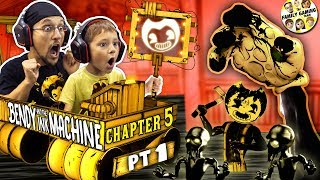 BENDY the INK MACHINE Chapter 5 The END of FGTEEV BENDY Secrets on the Wall