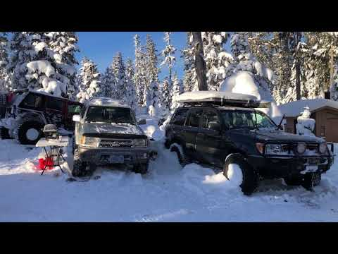 # Occupy Olallie 2018 I Oregon Cold Winter Snow Camping 3/4