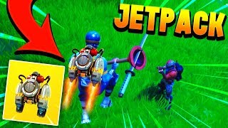 GETTING THE *NEW* JETPACK IN FORTNITE! - Fortnite Battle Royale Jetpack