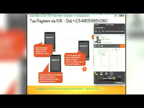 Developing an IVR Payment System - AstriCon 2014