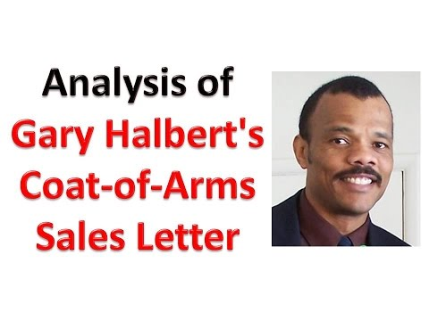 Analysis of Gary Halbert's Coat-of-Arms Sales Letter