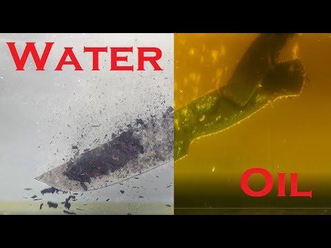 Heat Treating CLOSEUP - Water Vs Oil