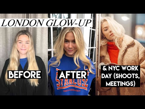 Pre-Abroad GLOW UP | Inside & Out and NYC Photoshoot/ Meetings | Margot Lee