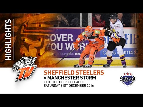 Sheffield Steelers v Manchester Storm - EIHL - 31st December 2016